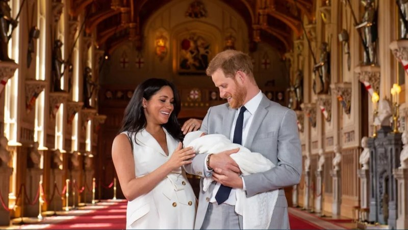 For now, Baby Sussex has no name. Photo courtesy: Dominic Lipinski