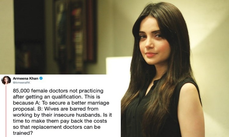 """""""Is it time to make them pay back the costs so that replacement doctors can be trained?"""" she wrote."""