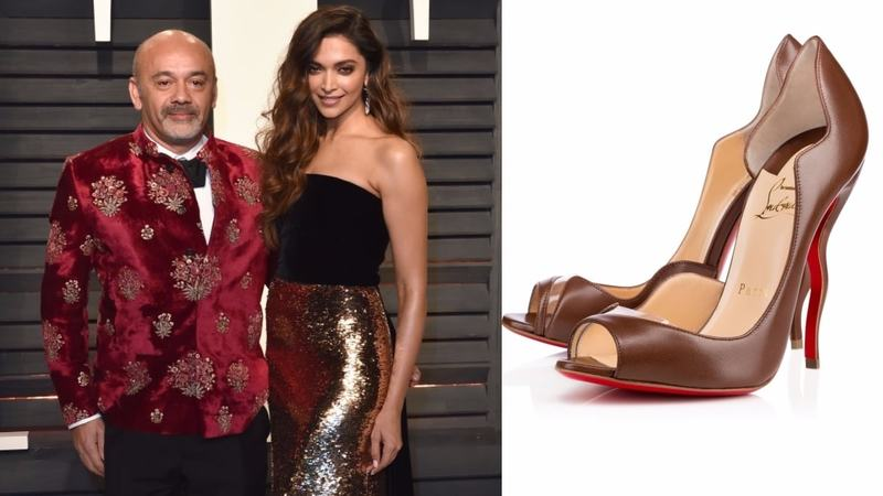 While we can't even afford one. The Deepik is a pair of black heels with a twist and a quintessential Louboutin red sole