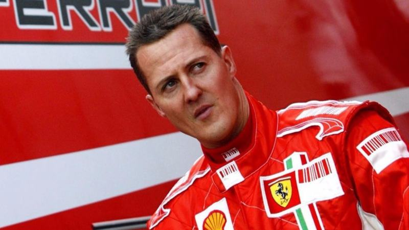 Schumacher has not been seen in public since a skiing accident five years ago left him with in a medically-induced coma.
