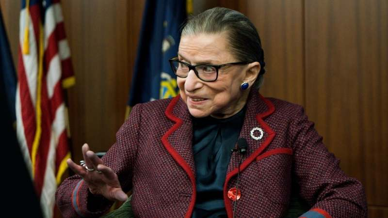 Justice Ruth Bader Ginsburg gets nominated for 'best fight' MTV Movie award