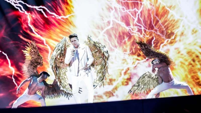Croatia performs at Eurovision 2019