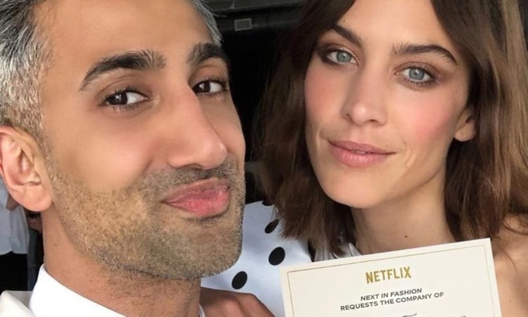 Next in Fashion is hosted by Queer Eye star, Tan France, along with fashion maven Alexa Chung.