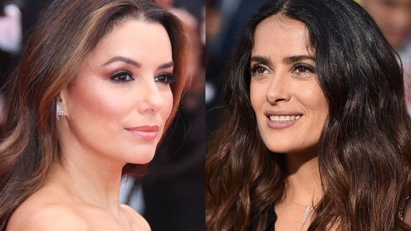 Celebs such as Salma Hayek and Eva Longoria speak up about gender equality at the Women in Motion dinner at Cannes