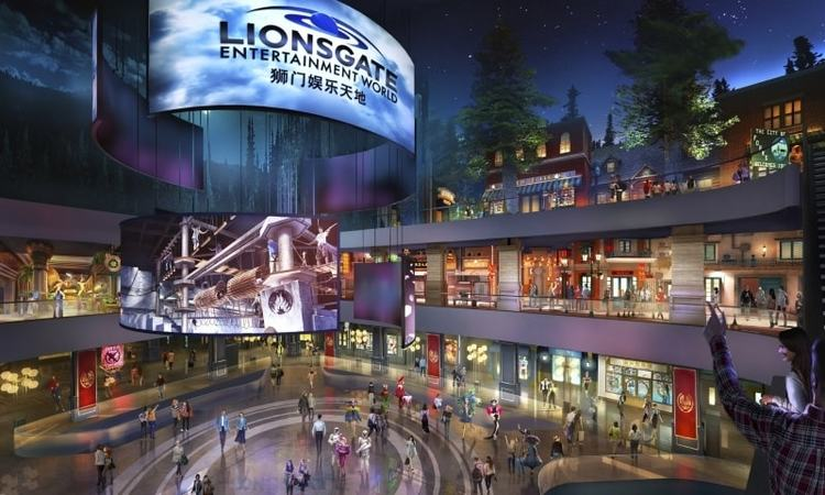 Some of Lionsgate's most popular film franchises will be brought to life for the studio's vertical theme park
