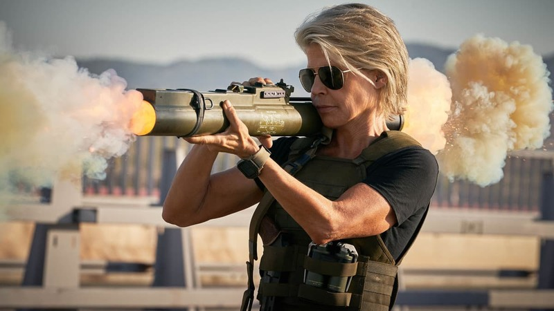 "Linda Hamilton stars in Skydance Productions and Paramount Pictures' ""Terminator: Dark Fate""© 2018 Skydance productions and Paramount Pictures"