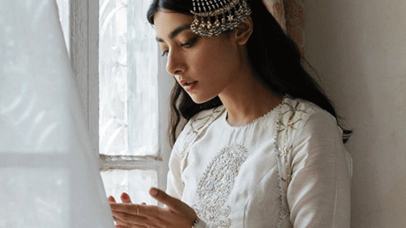 Eid collections tend to be beautiful, as opposed to cutting-edge.