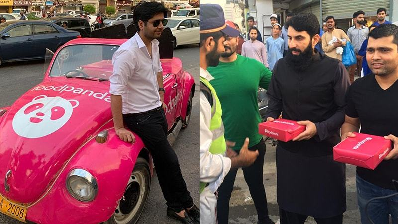 Ali Gul Pir, Imran Ashraf, Irfan Junejo and others participated in the  #RakhoKhayal campaign that happened in Karachi.