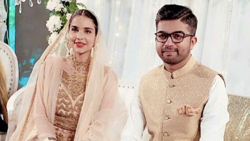Sarfaraz had announced her engagement earlier this year in April