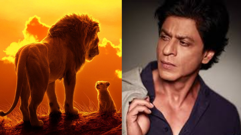 shah rukh khan and his son will voice the hindi version of