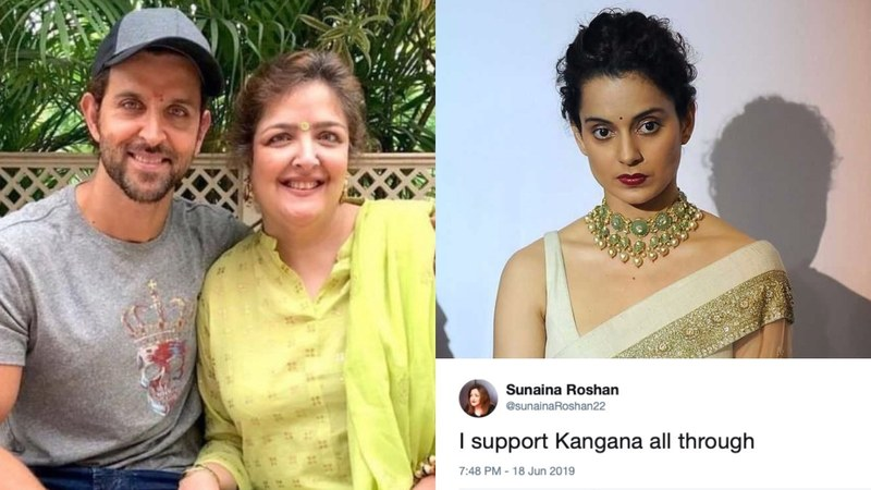 Kangana's sister, Rangoli has also tweeted about the Roshan family allegedly physically assaulting Sunaina