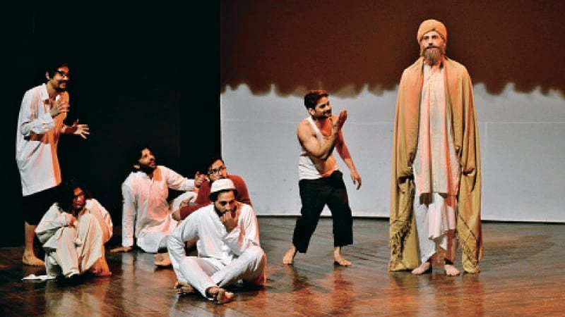 A shot from LAC's Manto drama festival