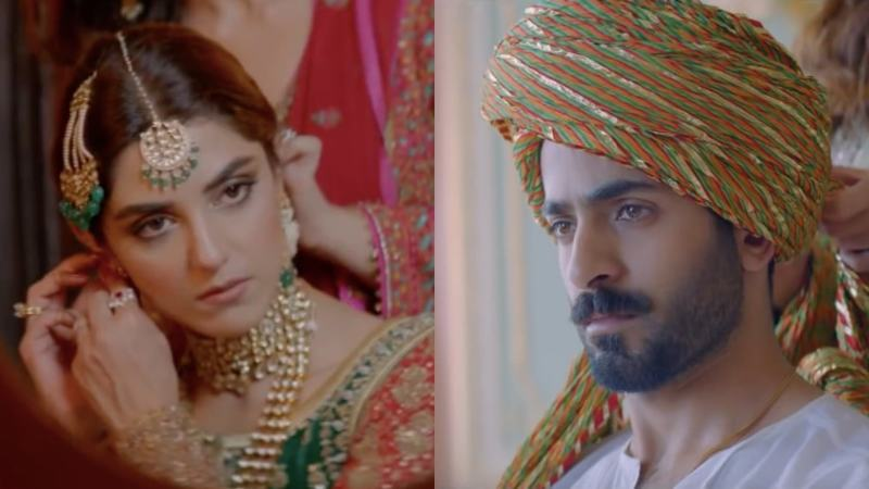 But whose? Will Maya Ali end up with Sheheryar Munawr or will she marry her fiancé played by Shahbaz Shigri?