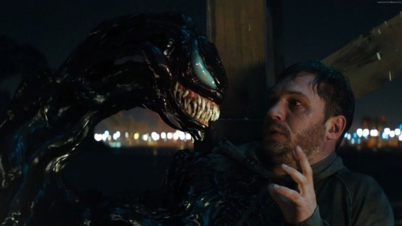 Tom Hardy has tongues wagging about Venom return
