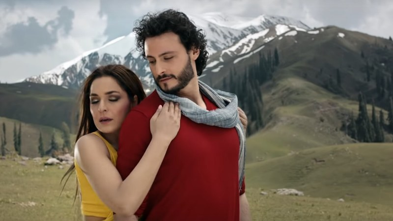 The music has been shot in the northern areas of Pakistan.