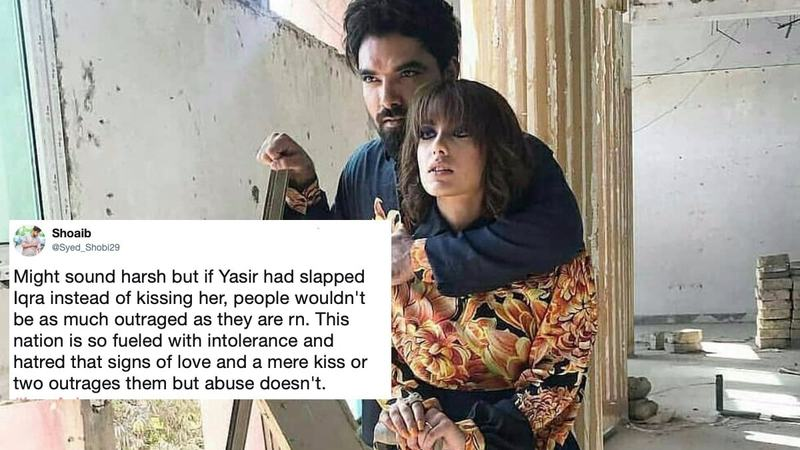 Yasir Hussain proposed to Iqra Aziz in a VERY public way and that seems to have ruffled some feathers.