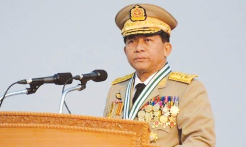 Image result for commander-in-chief Min Aung Hlaing.
