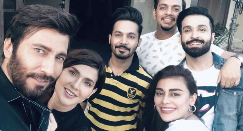 The rom-com telefilm also stars Aijaz Aslam, Azfar Rehman and Sadaf Kanwal