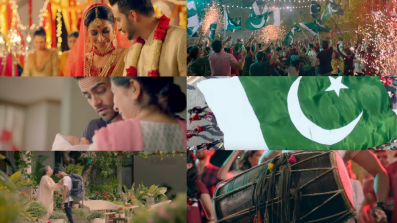 The campaign analyses the various extremities of our behaviour, showing what makes us uniquely Pakistani.