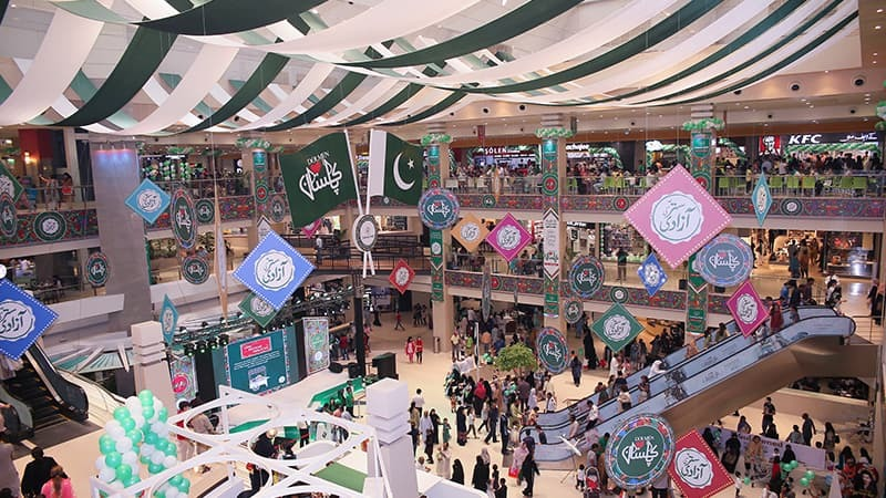 All three malls offer a chance of winning exclusive prizes and have festive celebrations lined up till August 17