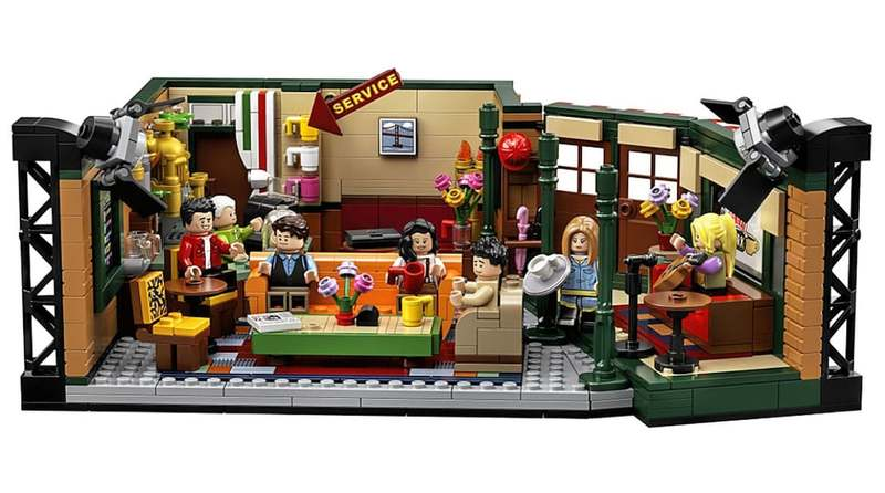 The lego set is being released to celebrate Friend's 25th anniversary.