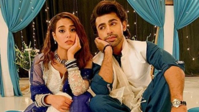 Iqra Aziz and Farhan Saeed's characters shared a love-hate relationship in Suno Chanda
