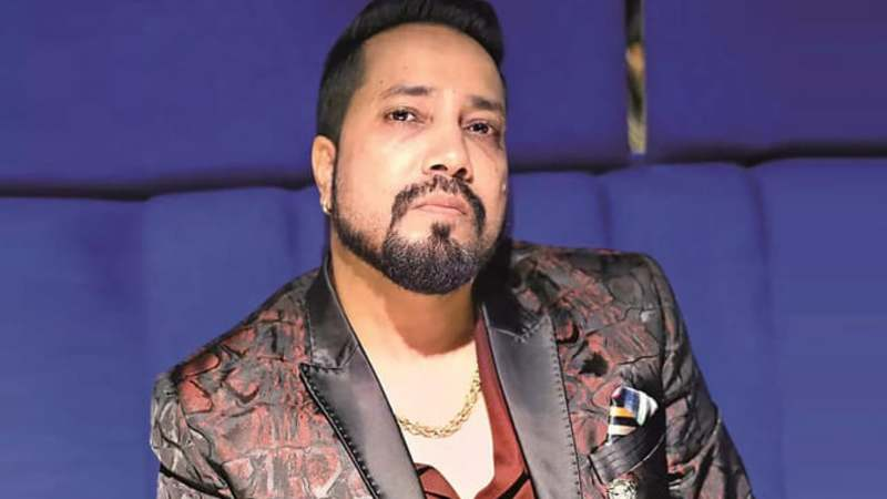 Popular Indian singer Mika Singh.