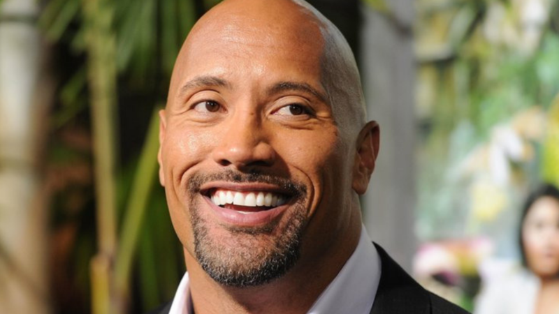 "Dwayne ""The Rock"" Johnson manages to make it to the top of the list."