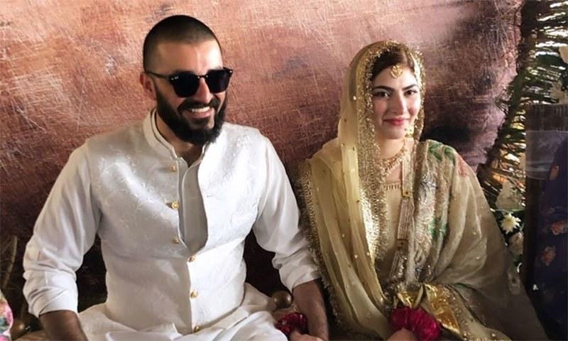 دونوں گزشتہ برس 25 اگست کو شادی کے بندھن میں بندھے تھے—فائل فوٹو: ماہا وجاہت خان