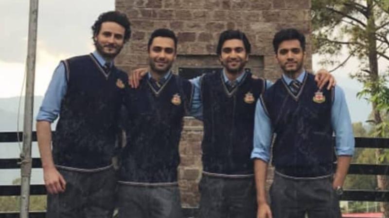 OKB and Ahad Raza Mir are college buddies in Hum TV's Ehd-e-Wafa