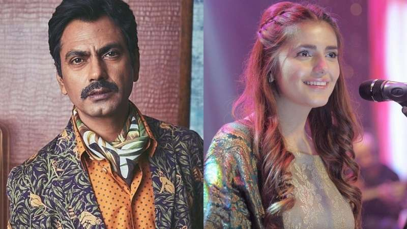 The actor revealed that he would listen to her and Asim Azhar's song, Tera Woh Pyaar on repeat during Manto's shooting