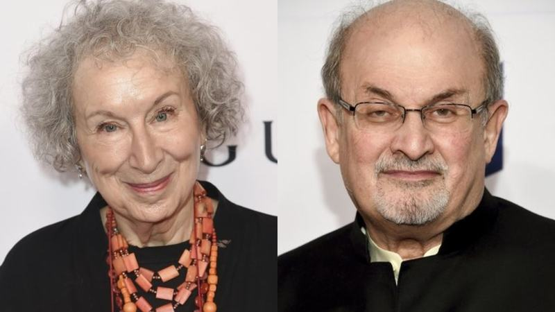 Rushdie and Atwood each have won the Booker before.