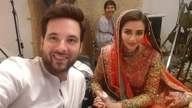 The drama also stars Mikaal Zulfiqar as a pilot who falls in love with her.