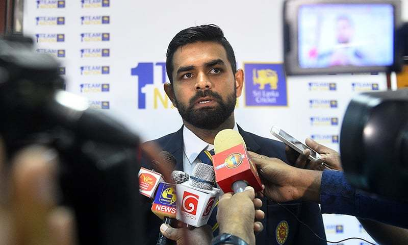 Sri Lanka squad arrive in Pakistan for ODI, T20 series