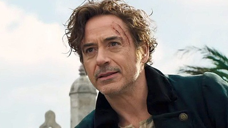 Let's be honest, we're all watching this for our love of Iron Man... we mean Sherlock... We mean RDJ.