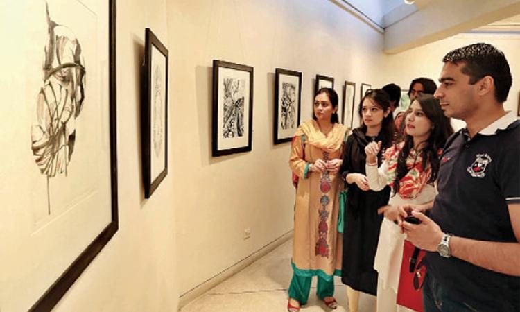 An earlier exhibition by Al Hamra