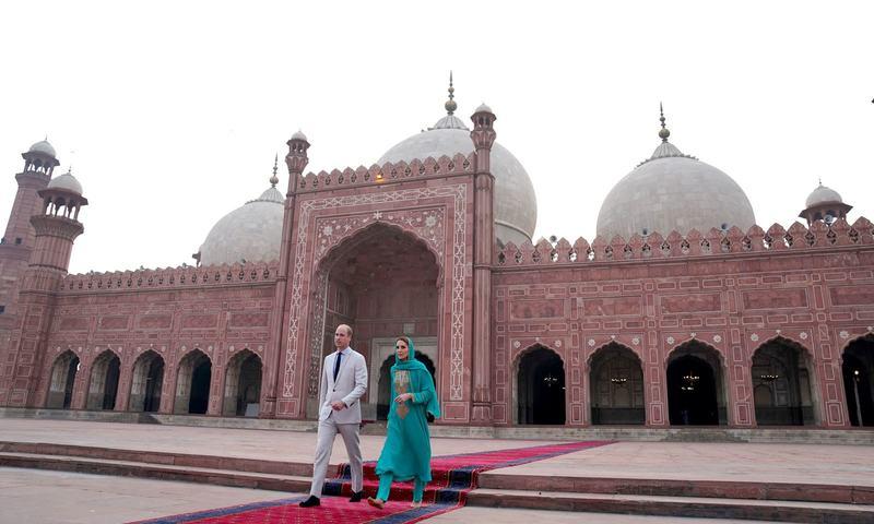 شاہی جوڑے کا یادگار دورہ لاہور