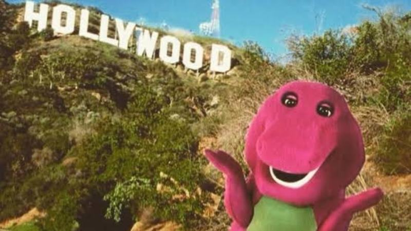 Mattel's iconic purple dinosaur is headed to the big screen.