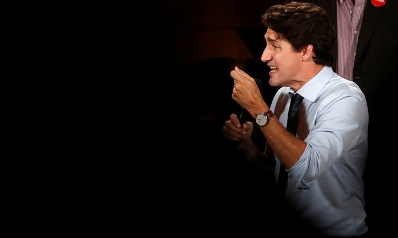 With his 'sunny ways' darkened by scandals, Canada's Trudeau seeks to retain power in election