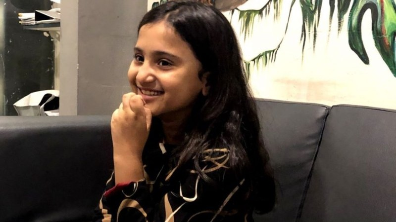 Emaan Danish Khan wants to save the planet using the age old method of story-telling and a doll named Fizza.