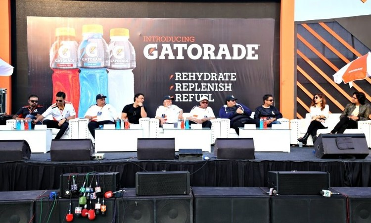The 'sweatathon' encouraged physical fitness in an event with tons of our favourite celebs in attendance.