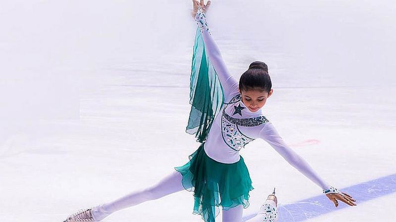Malak only started skating at the age of five and hopes to represent Pakistan at the Winter Olympics in the future.
