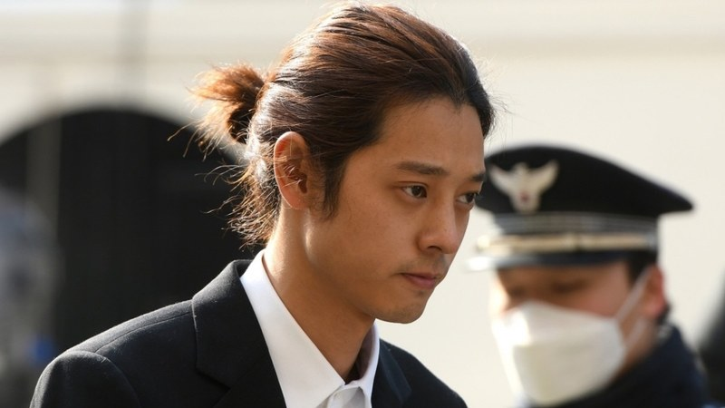 Jung Joon-young was also convicted of filming women without their consent and sharing them in a group chat with friends.