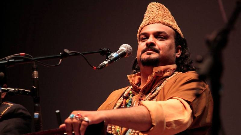 Sabri's voice — sampled from 'Jaga Ji Laganay' — is haunting and lifts the track.