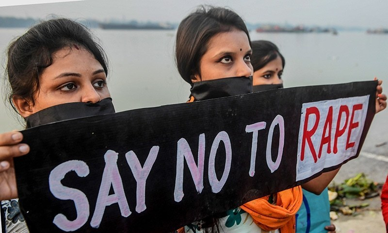 Rape victim set ablaze in India while making way to court