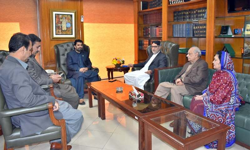 Ijaz Shah assures BNP-M of govt's 'full cooperation' over arrest of 4 Awaran women