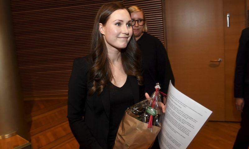 Finnish minister Sanna Marin to become world's youngest PM