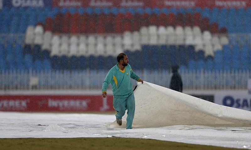 Early lunch after rain stops play on second day of Pakistan-Sri Lanka Test in Rawalpindi