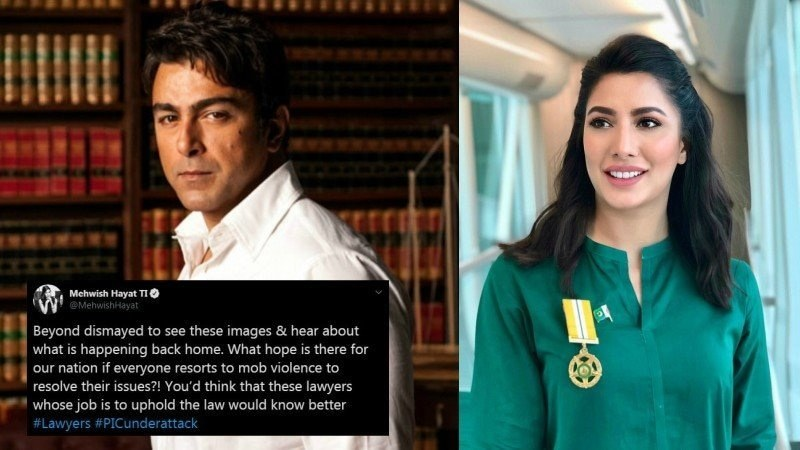 """You'd think that these lawyers whose job is to uphold the law would know better,"" wrote Mehwish Hayat."