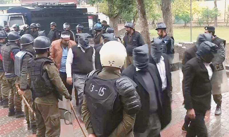 Govt blames PML-N for hospital attack